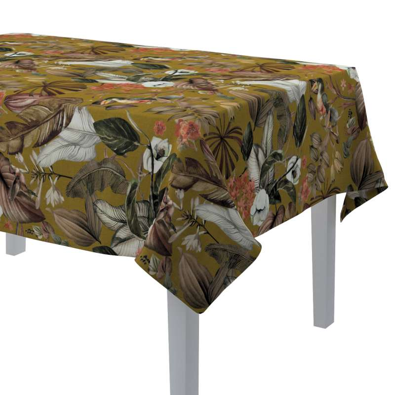 Rectangular tablecloth in collection Abigail, fabric: 143-09