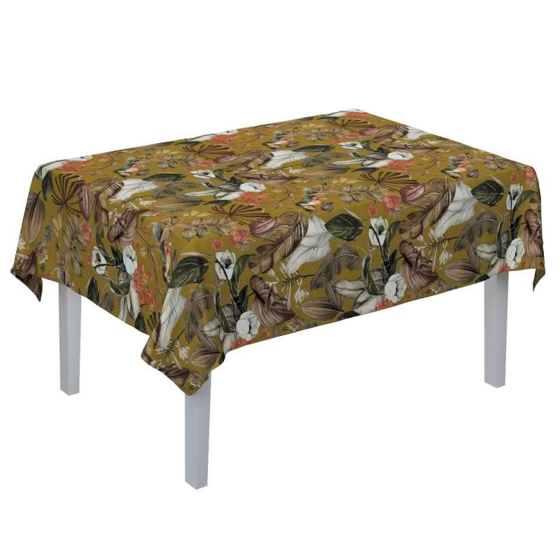 Rektangulær bordduk fra kolleksjonen Abigail, Stoffets bredde: 143-09