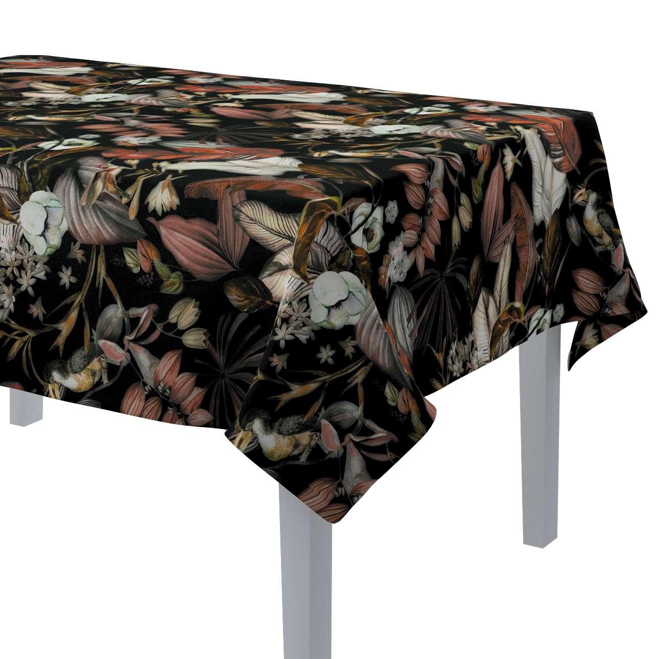 Rektangulære borddug fra kollektionen Abigail, Stof: 143-10