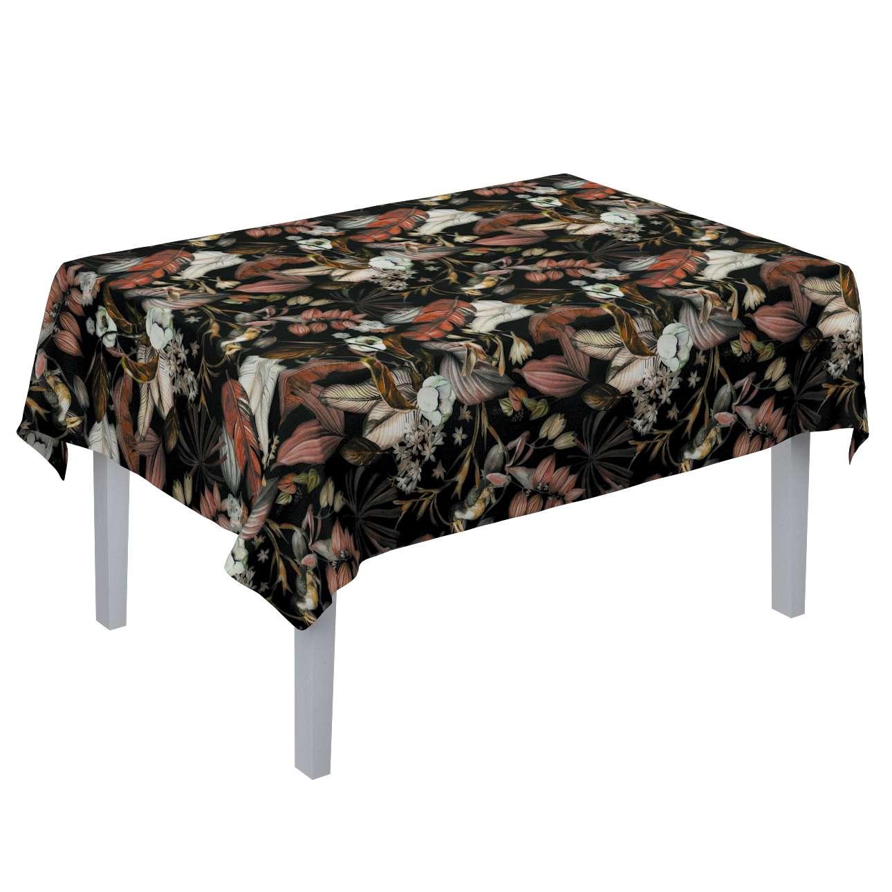 Rektangulær bordduk fra kolleksjonen Abigail, Stoffets bredde: 143-10
