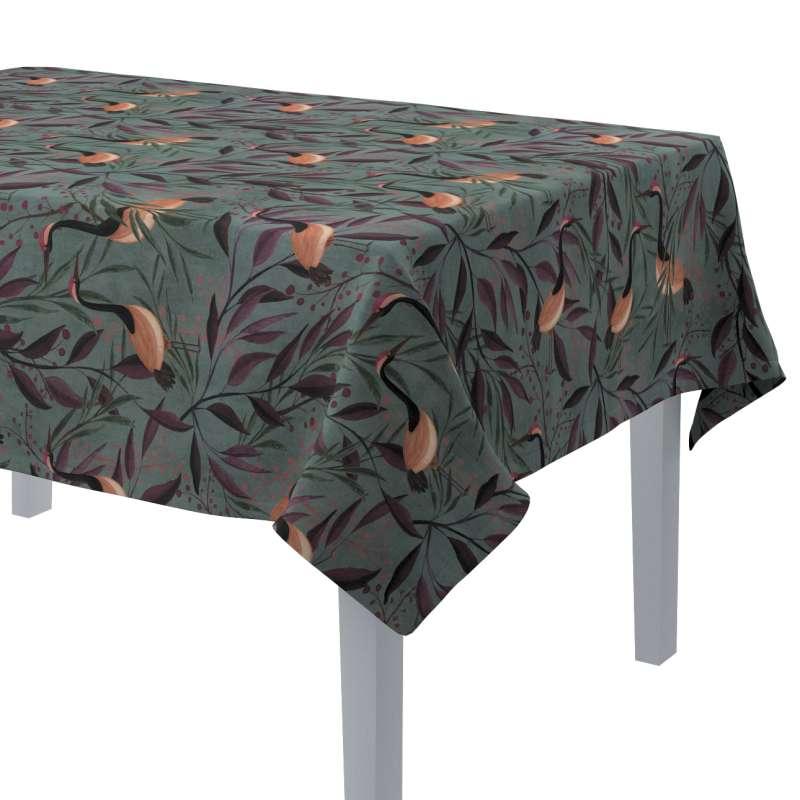 Rektangulär bordsduk i kollektionen Abigail, Tyg: 143-11
