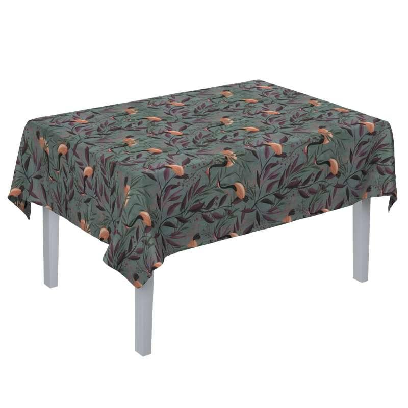 Rektangulær bordduk fra kolleksjonen Abigail, Stoffets bredde: 143-11