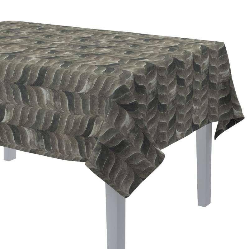 Rektangulär bordsduk i kollektionen Abigail, Tyg: 143-12