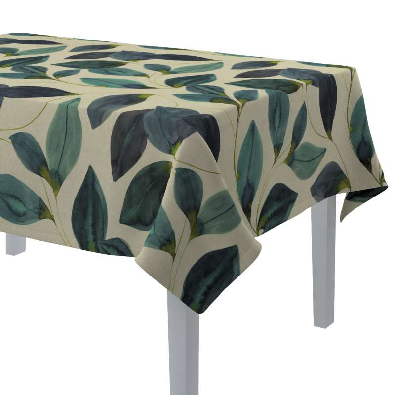 Rektangulär bordsduk i kollektionen Abigail, Tyg: 143-15