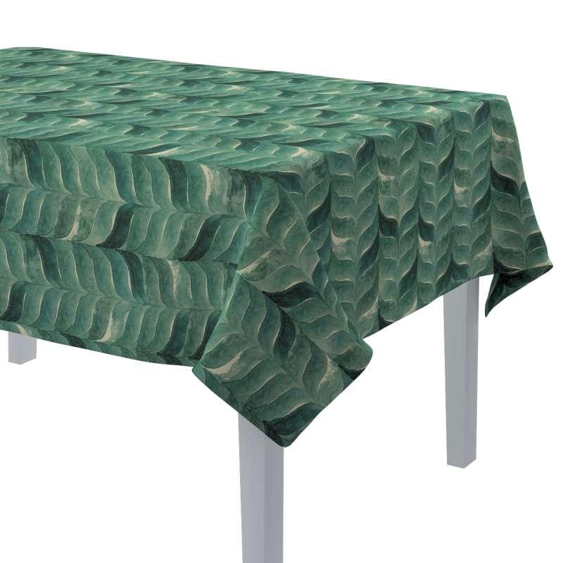 Rektangulær bordduk fra kolleksjonen Abigail, Stoffets bredde: 143-16