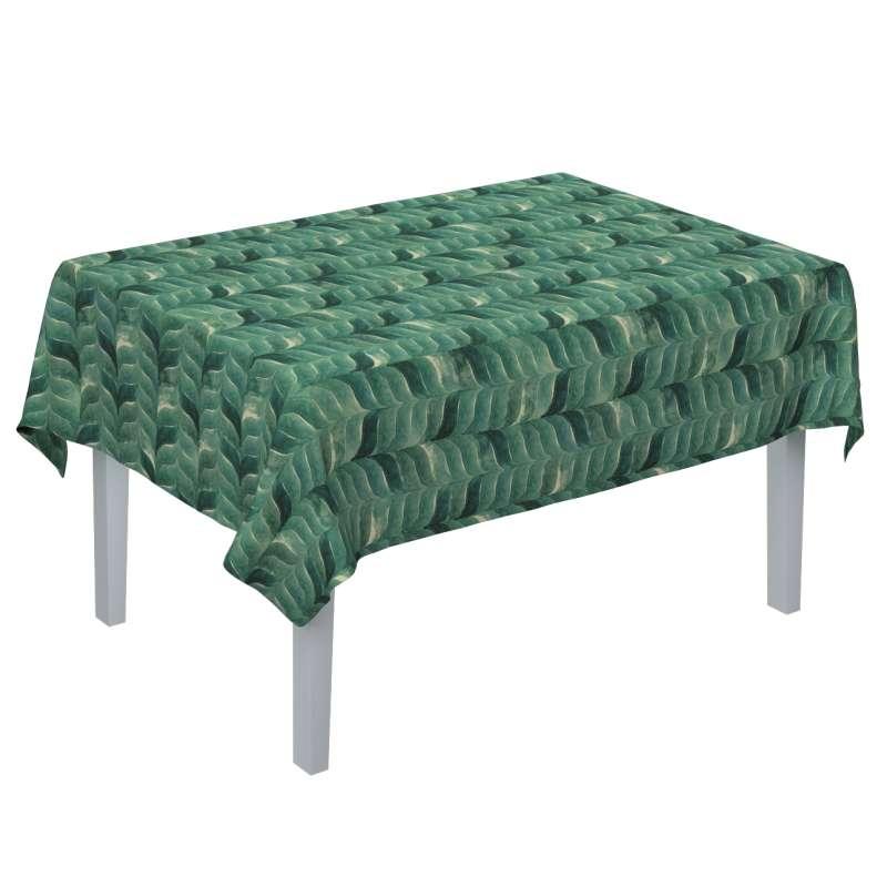 Rektangulär bordsduk i kollektionen Abigail, Tyg: 143-16