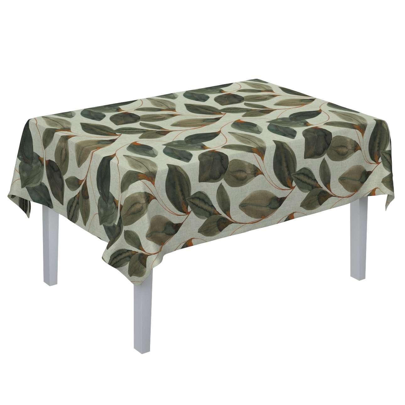 Obrus na stôl obdĺžnikový V kolekcii Abigail, tkanina: 143-17