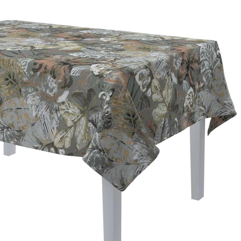 Rektangulær bordduk fra kolleksjonen Abigail, Stoffets bredde: 143-19