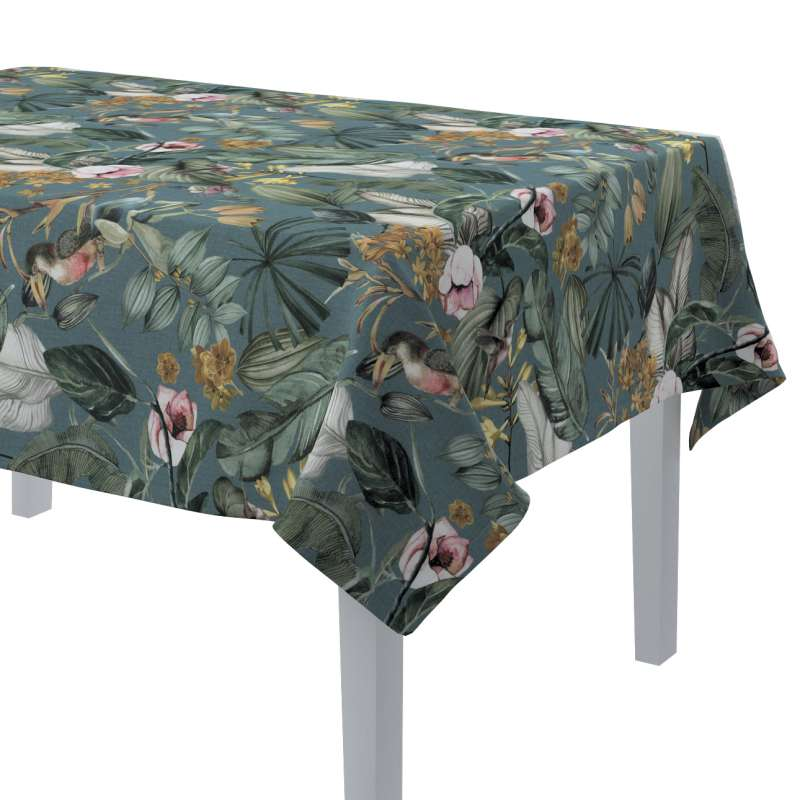 Rectangular tablecloth in collection Abigail, fabric: 143-24
