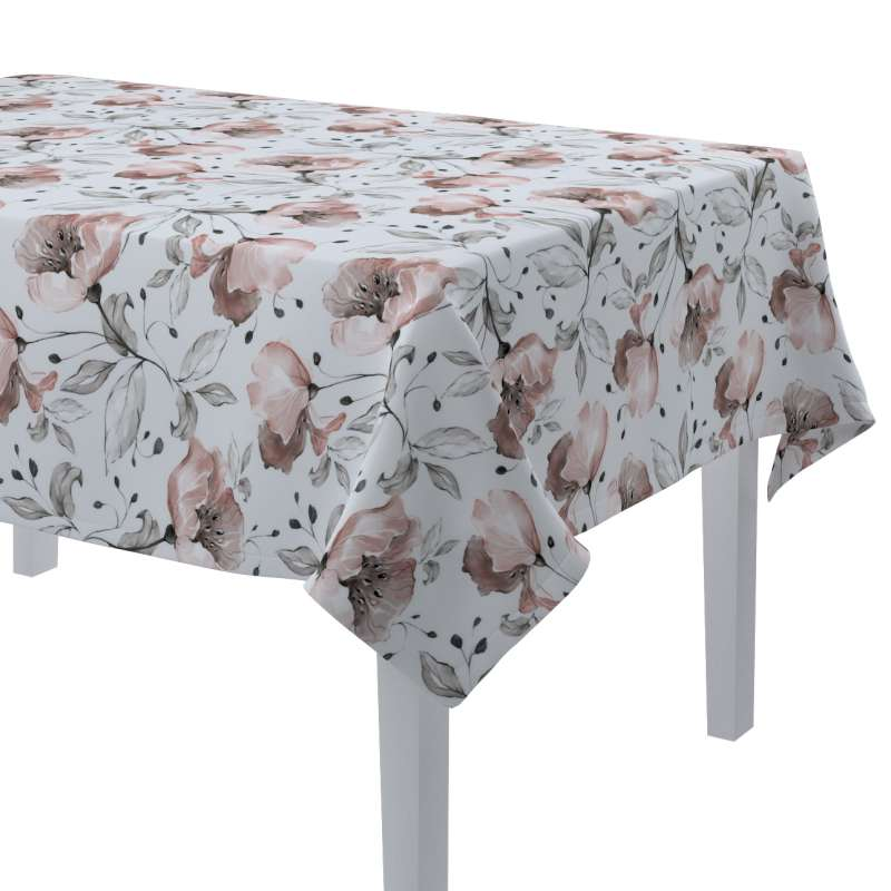 Rectangular tablecloth in collection Velvet, fabric: 704-50