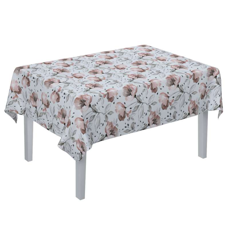 Rektangulär bordsduk  i kollektionen Velvet, Tyg: 704-50
