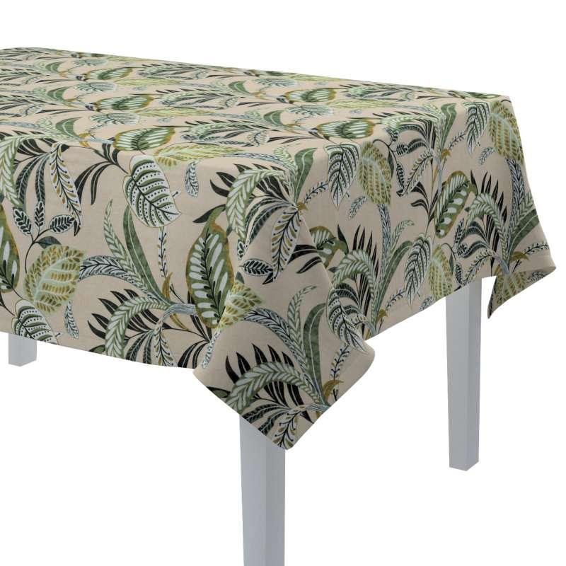 Rektangulær bordduk fra kolleksjonen Tropical Island, Stoffets bredde: 142-96