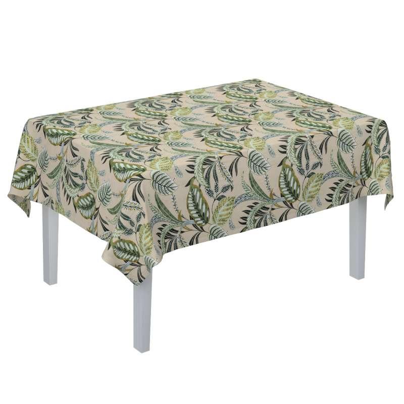 Rektangulär bordsduk i kollektionen Tropical Island, Tyg: 142-96