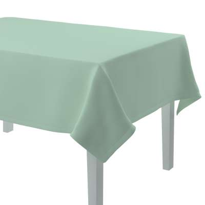 Rechteckige Tischdecke 133-61 grün Kollektion Loneta