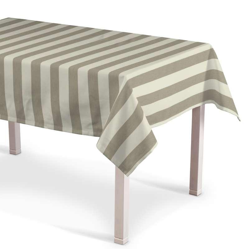 Rektangulär bordsduk i kollektionen Quadro II, Tyg: 142-73