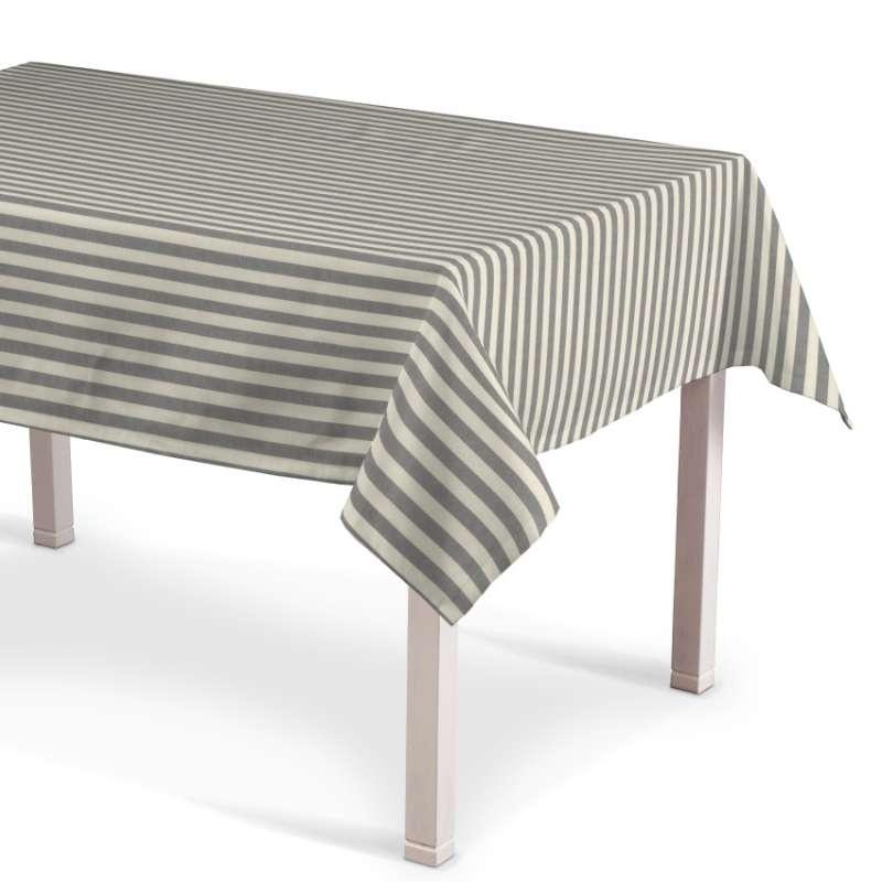 Rektangulär bordsduk i kollektionen Quadro II, Tyg: 136-12