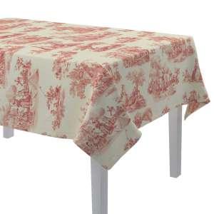 Rechteckige Tischdecke 130 x 130 cm von der Kollektion Avinon, Stoff: 132-15