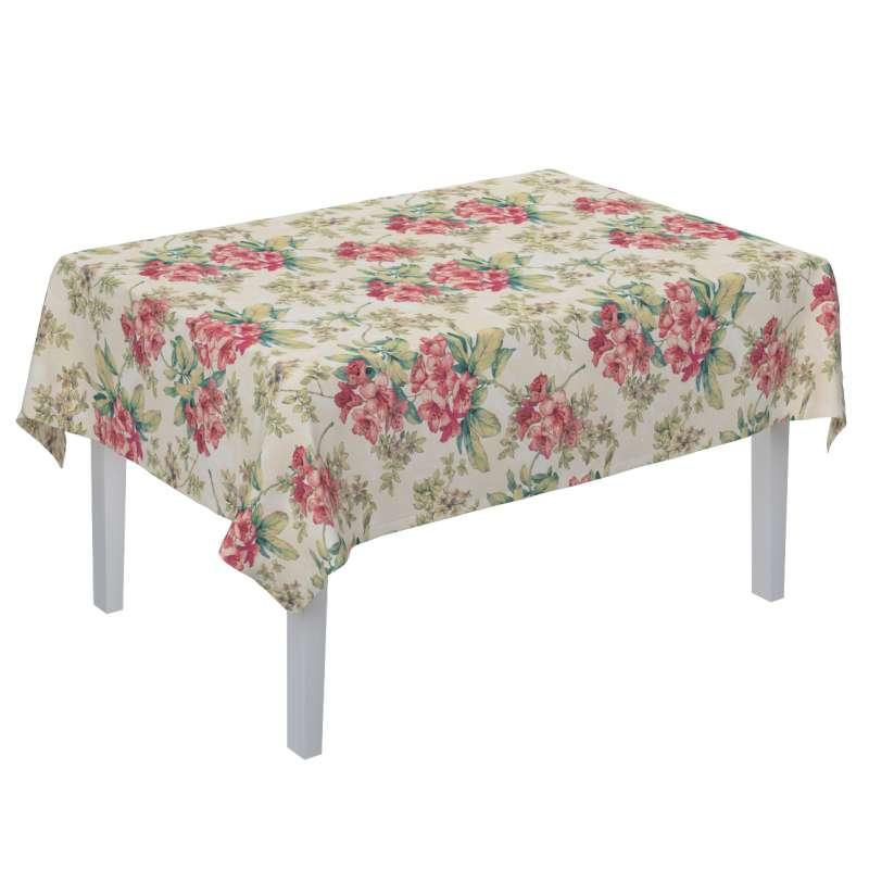 Obrus na stôl obdĺžnikový V kolekcii Londres, tkanina: 143-40