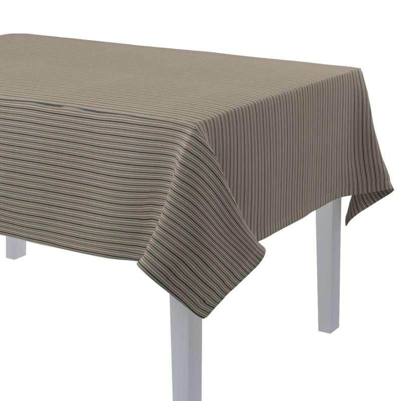 Rektangulær bordduk fra kolleksjonen Londres , Stoffets bredde: 143-38
