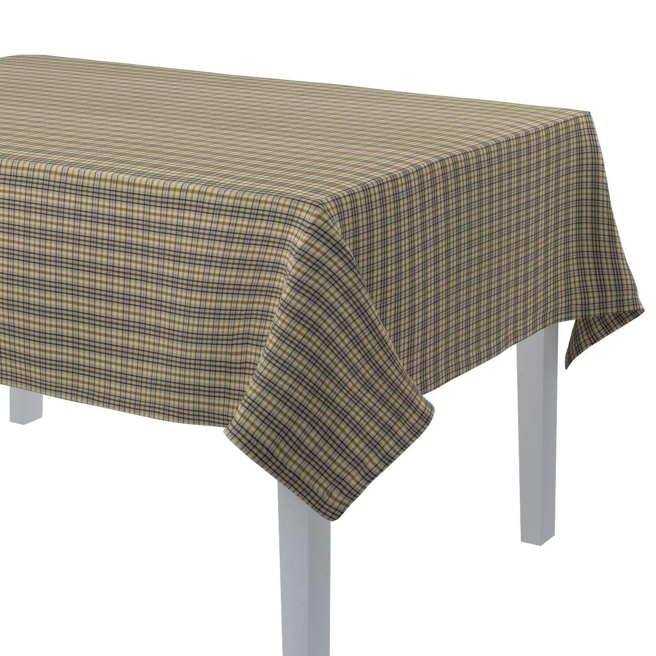Rektangulær bordduk fra kolleksjonen Londres , Stoffets bredde: 143-39