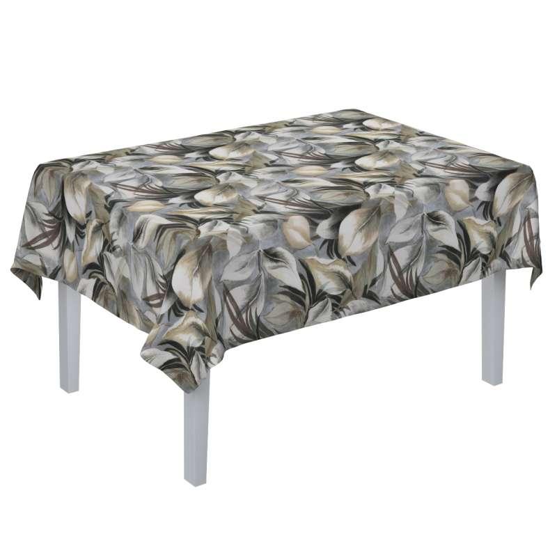 Rektangulär bordsduk i kollektionen Abigail, Tyg: 143-60
