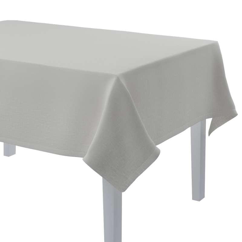 Obrus prostokątny w kolekcji Linen, tkanina: 159-06