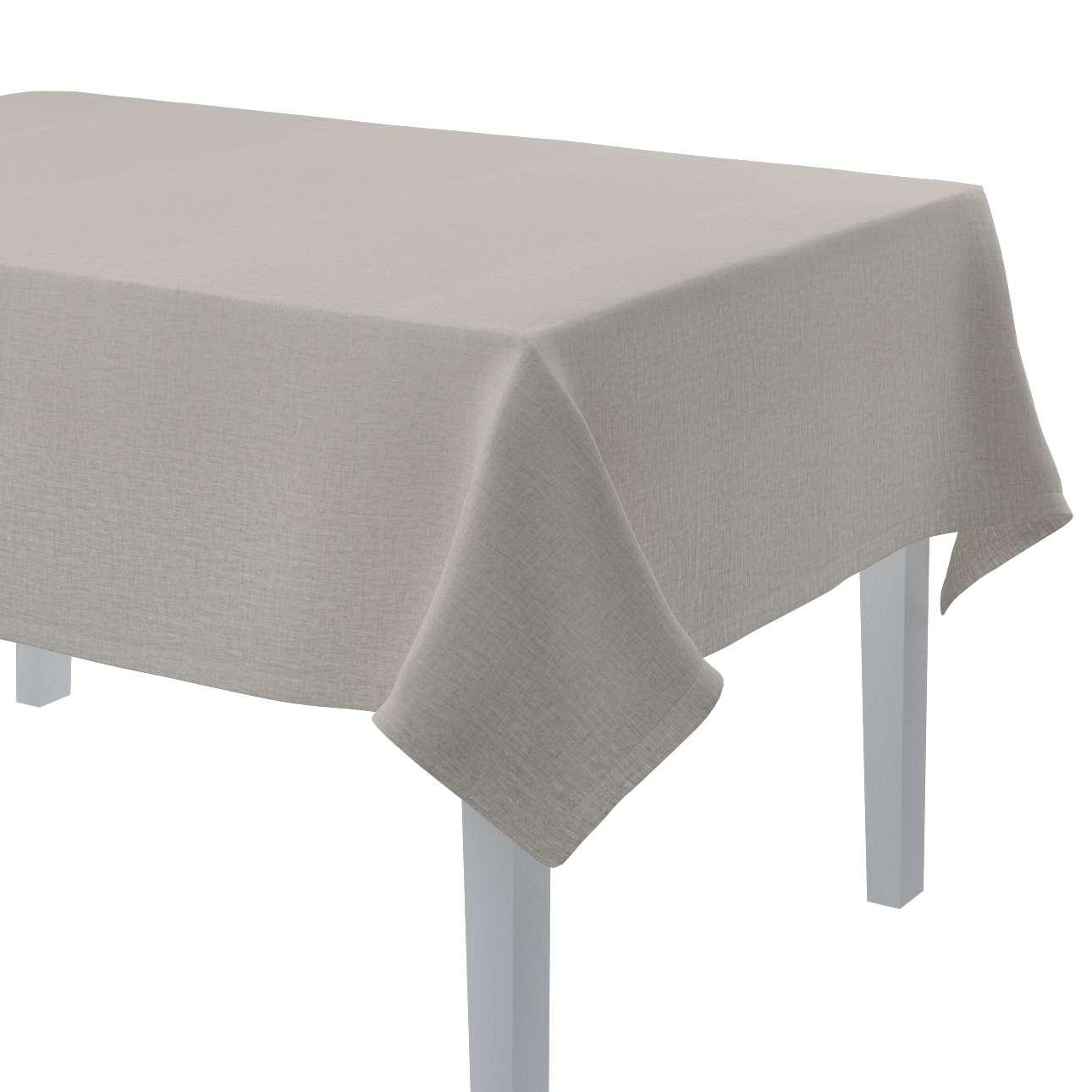 Obrus na stôl obdĺžnikový V kolekcii Linen, tkanina: 159-07