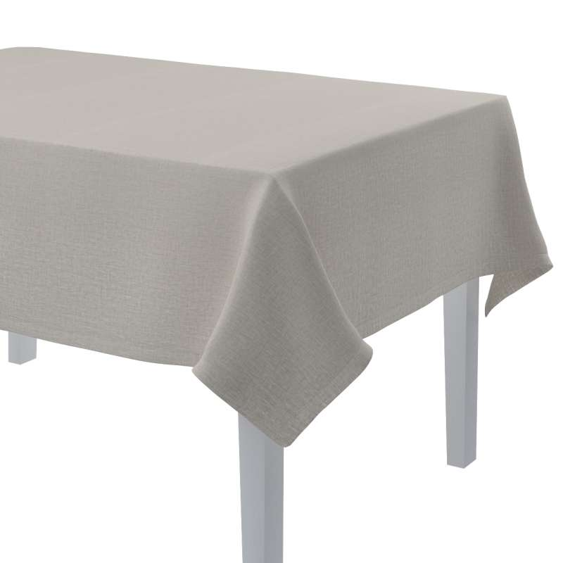 Rektangulær bordduk fra kolleksjonen Linen, Stoffets bredde: 159-07