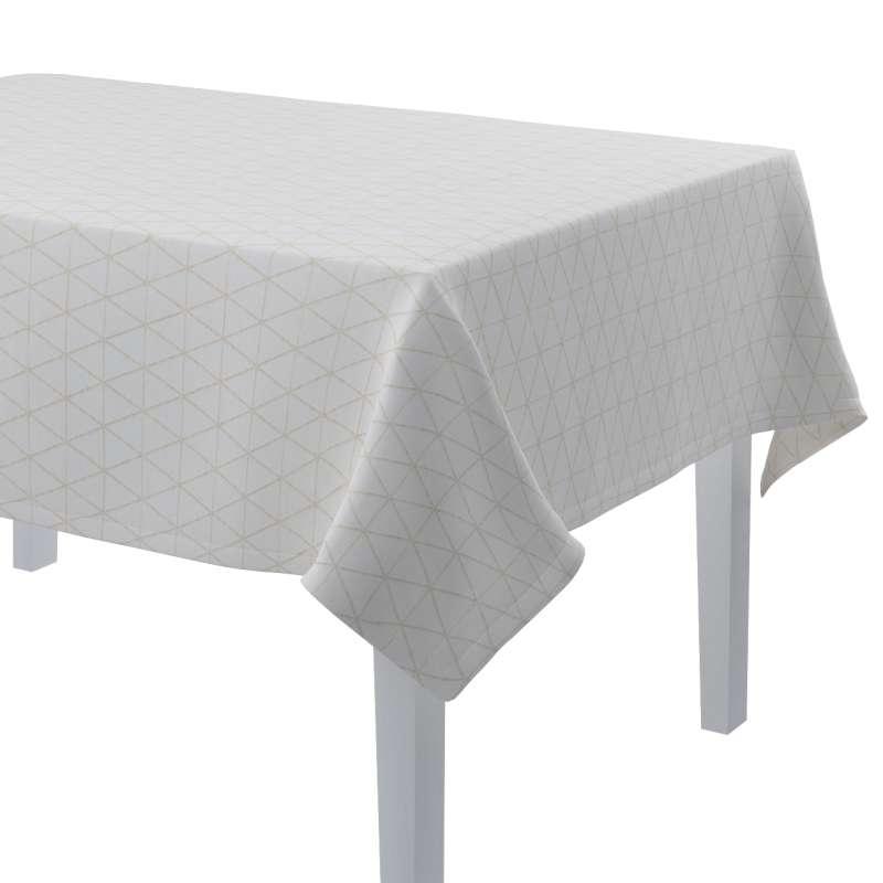 Rektangulär bordsduk i kollektionen Sunny, Tyg: 143-94