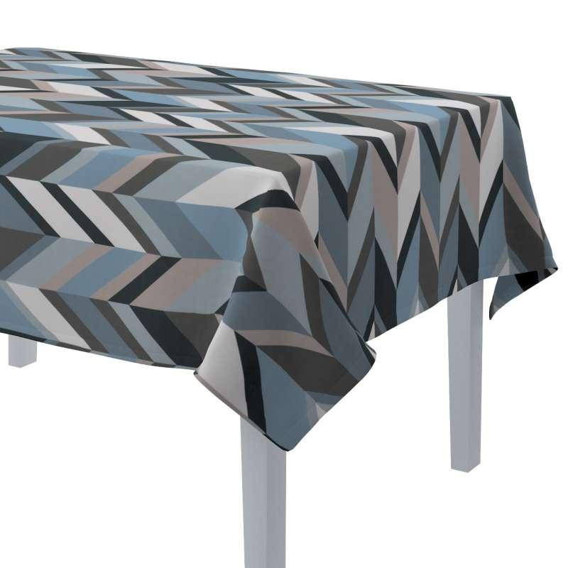 Rektangulær bordduk fra kolleksjonen Vintage 70's, Stoffets bredde: 143-54