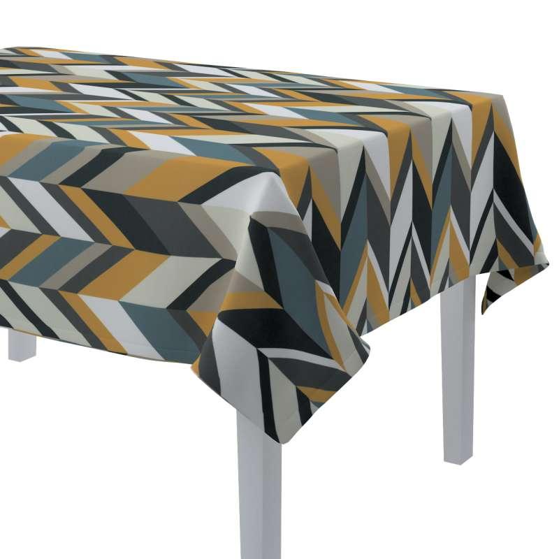 Rektangulær bordduk fra kolleksjonen Vintage 70's, Stoffets bredde: 143-56