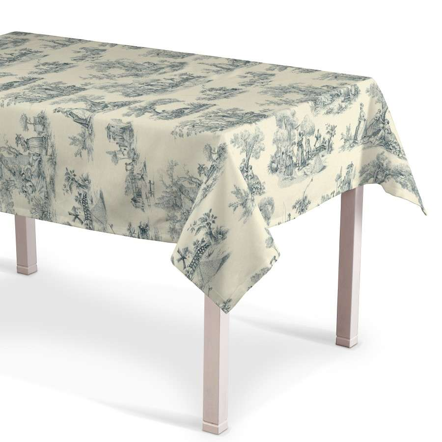 Rectangular tablecloth 130 x 130 cm (51 x51 inch) in collection Avinon, fabric: 132-66