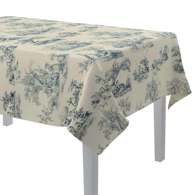 Rektangulære borddug fra kollektionen Avinon, Stof: 132-66
