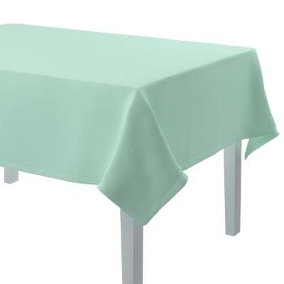Rechteckige Tischdecke 133-37 mintgrün Kollektion Loneta