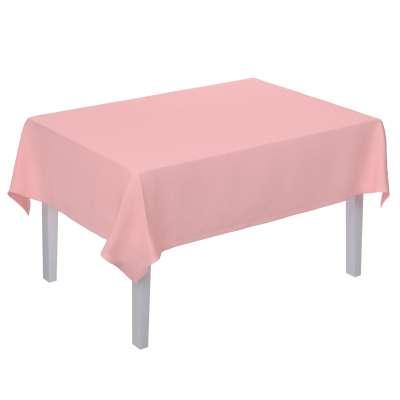 Obrus na stôl obdĺžnikový 133-39 púdrovo ružová Kolekcia Loneta