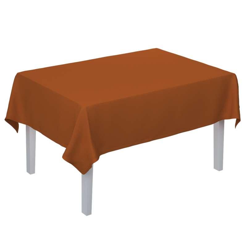 Rektangulær bordduk fra kolleksjonen Cotton Panama, Stoffets bredde: 702-42