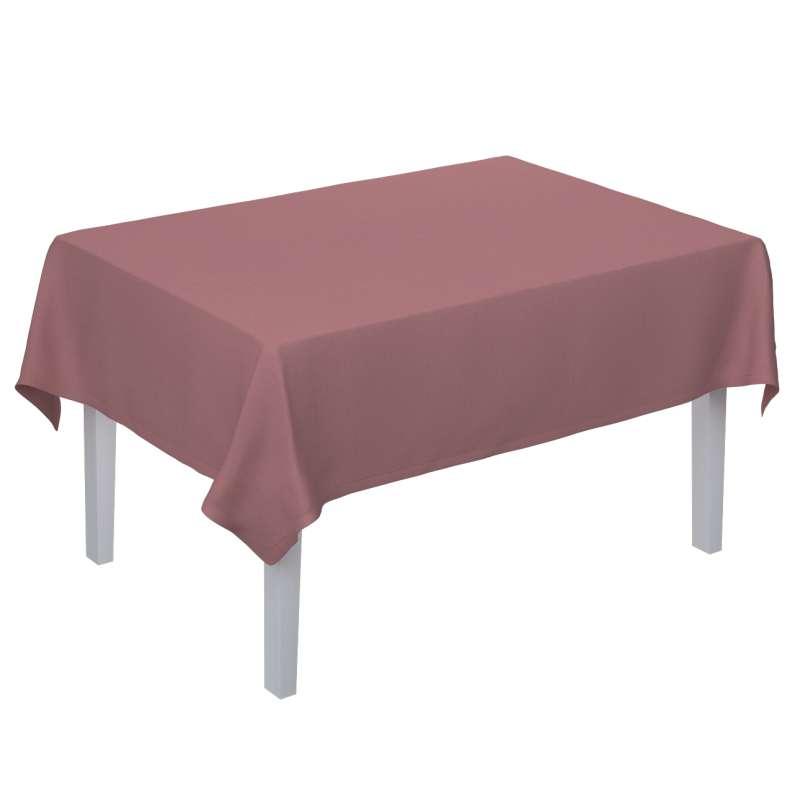 Rektangulær bordduk fra kolleksjonen Cotton Panama, Stoffets bredde: 702-43