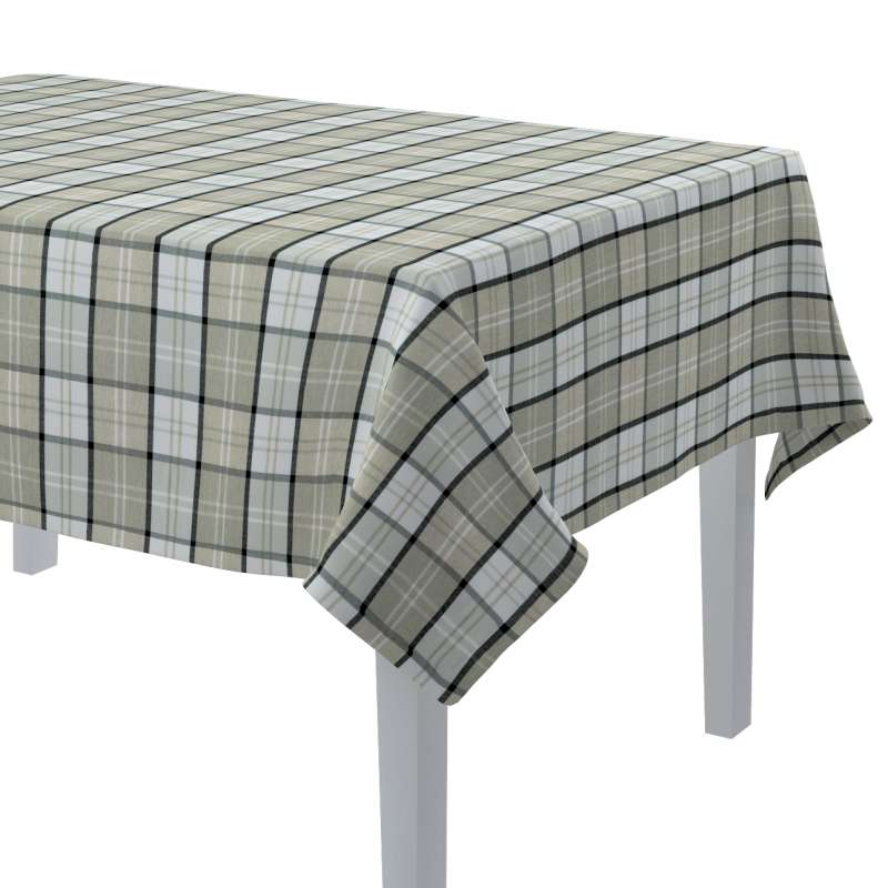 Rektangulær bordduk fra kolleksjonen Bristol , Stoffets bredde: 143-64