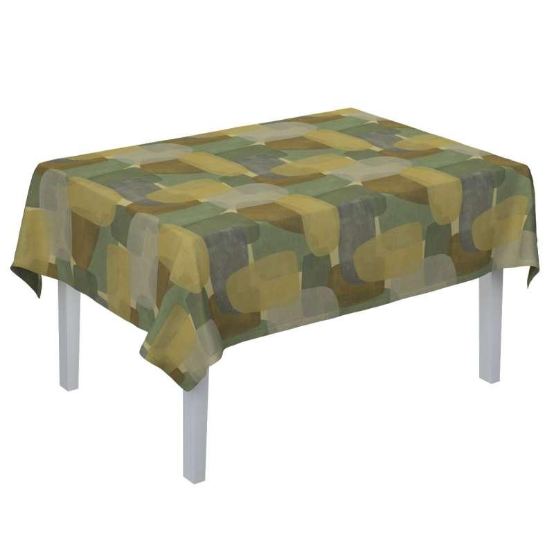 Rektangulär bordsduk i kollektionen Vintage 70's, Tyg: 143-72