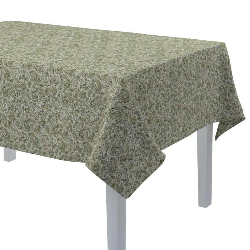 Rektangulær bordduk fra kolleksjonen Flowers, Stoffets bredde: 143-68