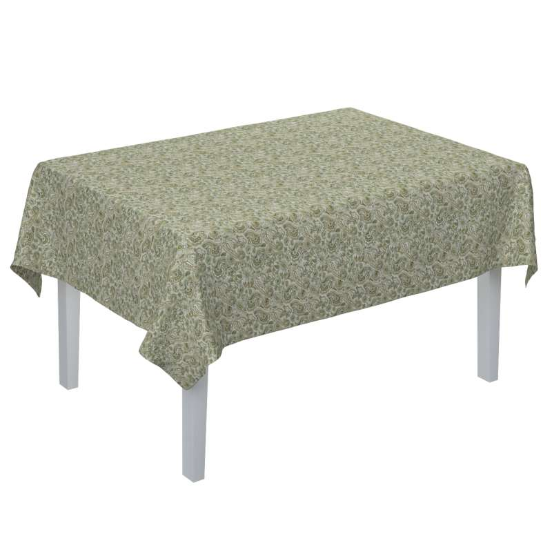 Rectangular tablecloth in collection Flowers, fabric: 143-68