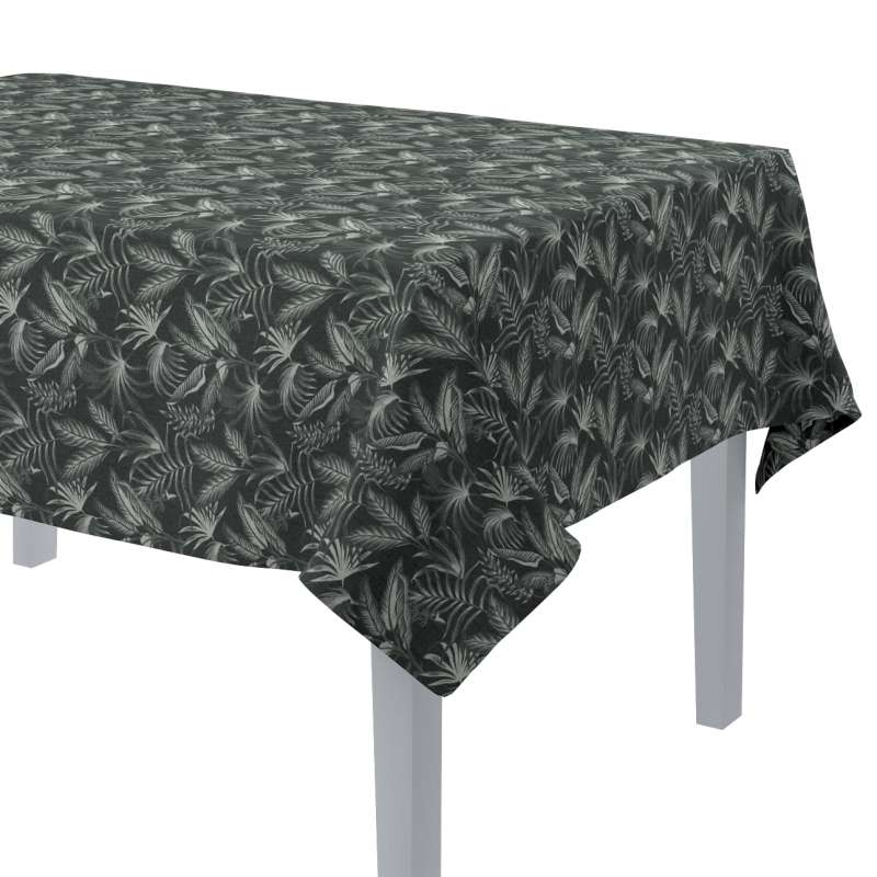 Rectangular tablecloth in collection Flowers, fabric: 143-73
