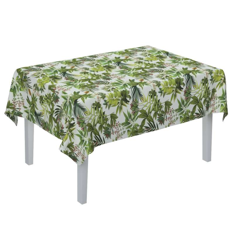 Rectangular tablecloth in collection Tropical Island, fabric: 143-69