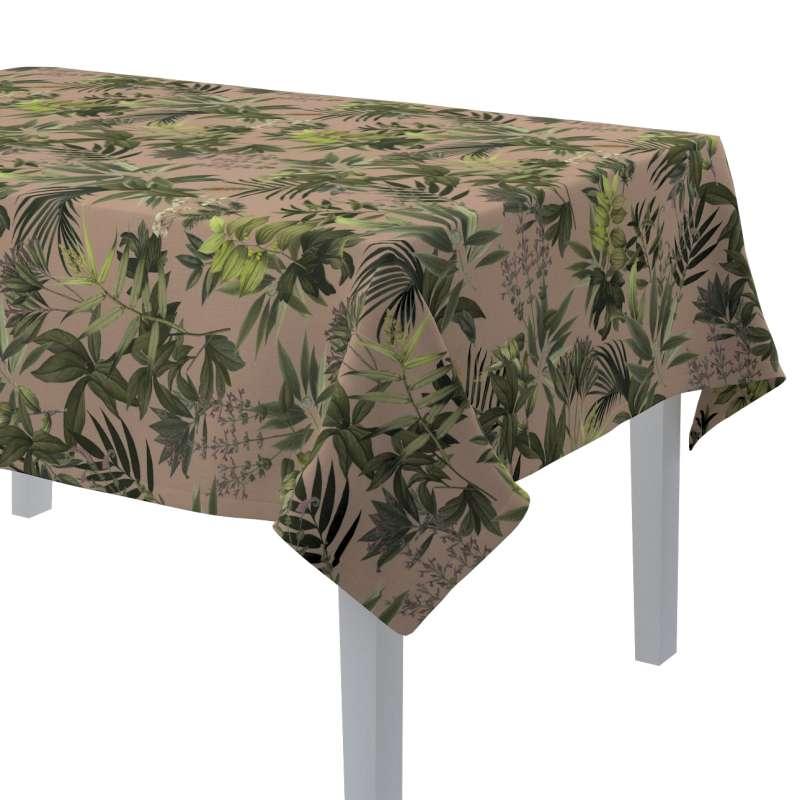 Rechthoekig tafelkleed van de collectie Tropical Island, Stof: 143-71