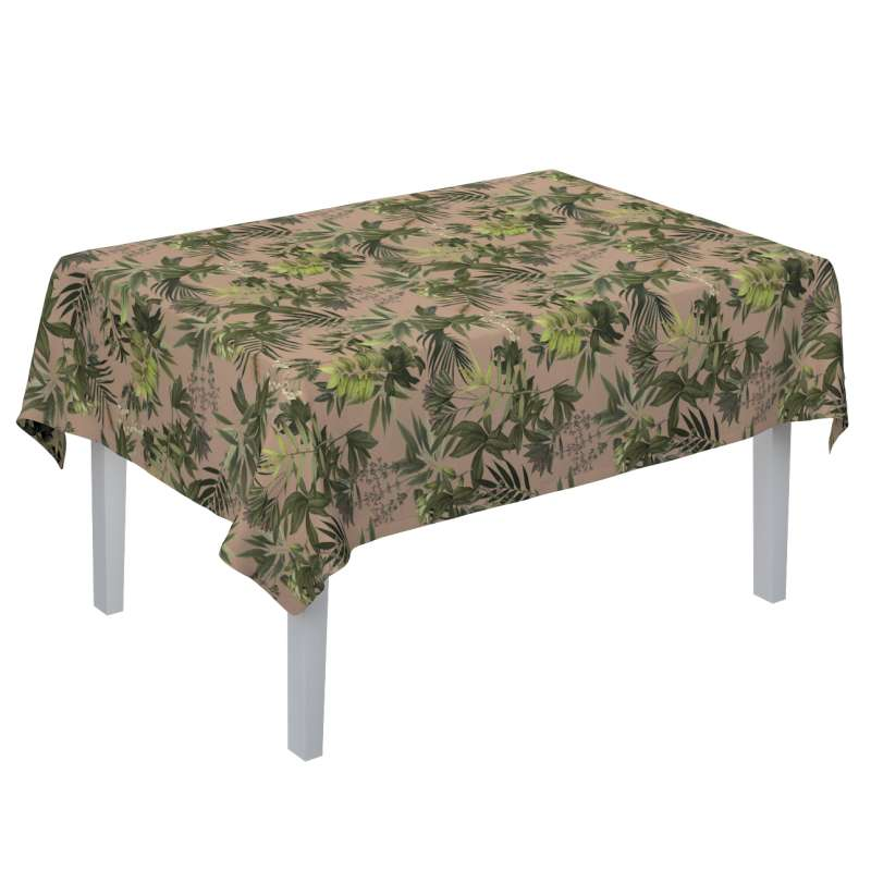 Rectangular tablecloth in collection Tropical Island, fabric: 143-71