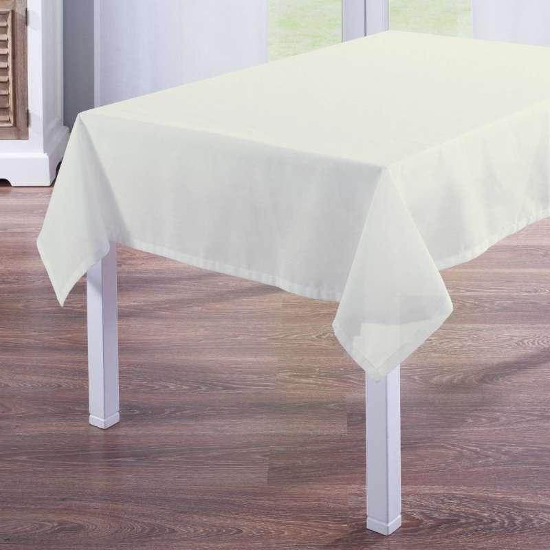 Rektangulær bordduk fra kolleksjonen Romantikk, Stoffets bredde: 128-88
