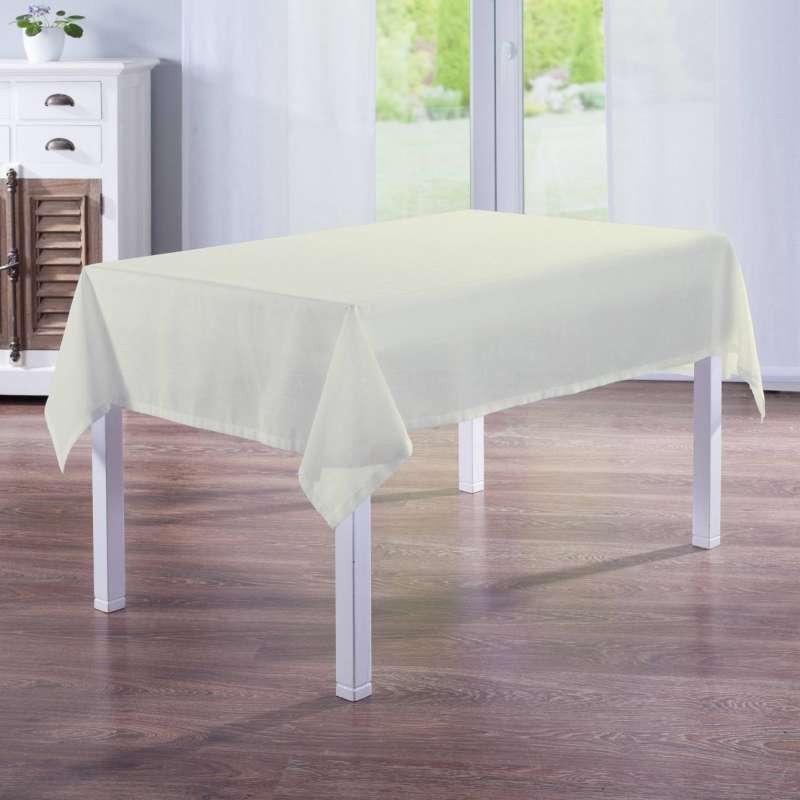 Rektangulære borddug fra kollektionen Romantik, Stof: 128-88