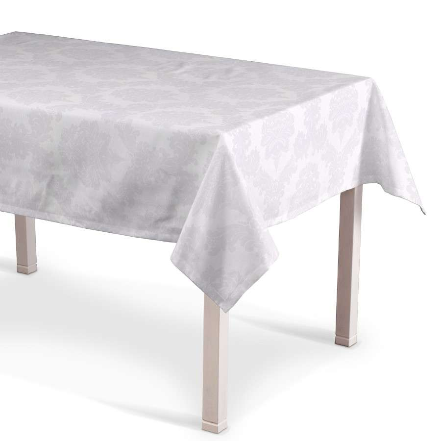 Rectangular tablecloth 130 x 130 cm (51 x51 inch) in collection Damasco, fabric: 613-00