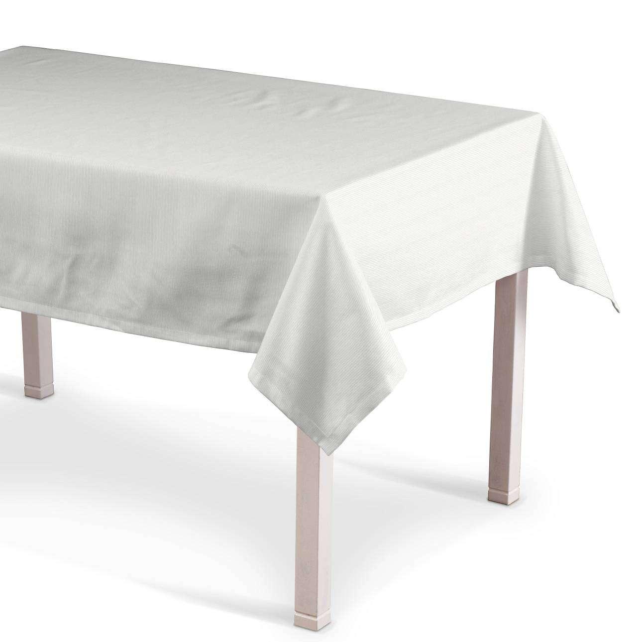 Rektangulær bordduk 130 x 130 cm fra kolleksjonen Jupiter, Stoffets bredde: 127-01