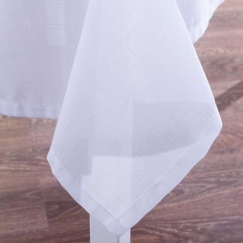 Rektangulær bordduk fra kolleksjonen Romantikk, Stoffets bredde: 128-77